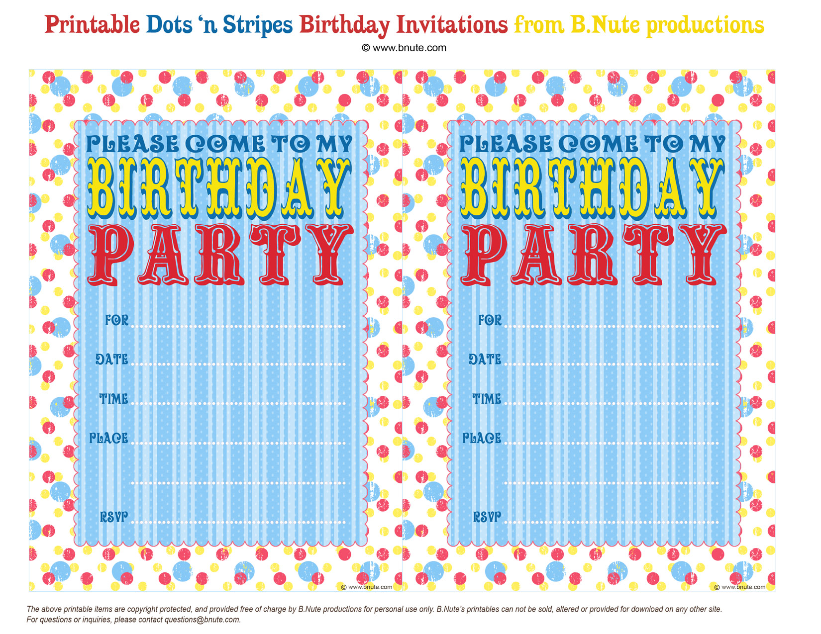 Monster image throughout free printable birthday invitation templates