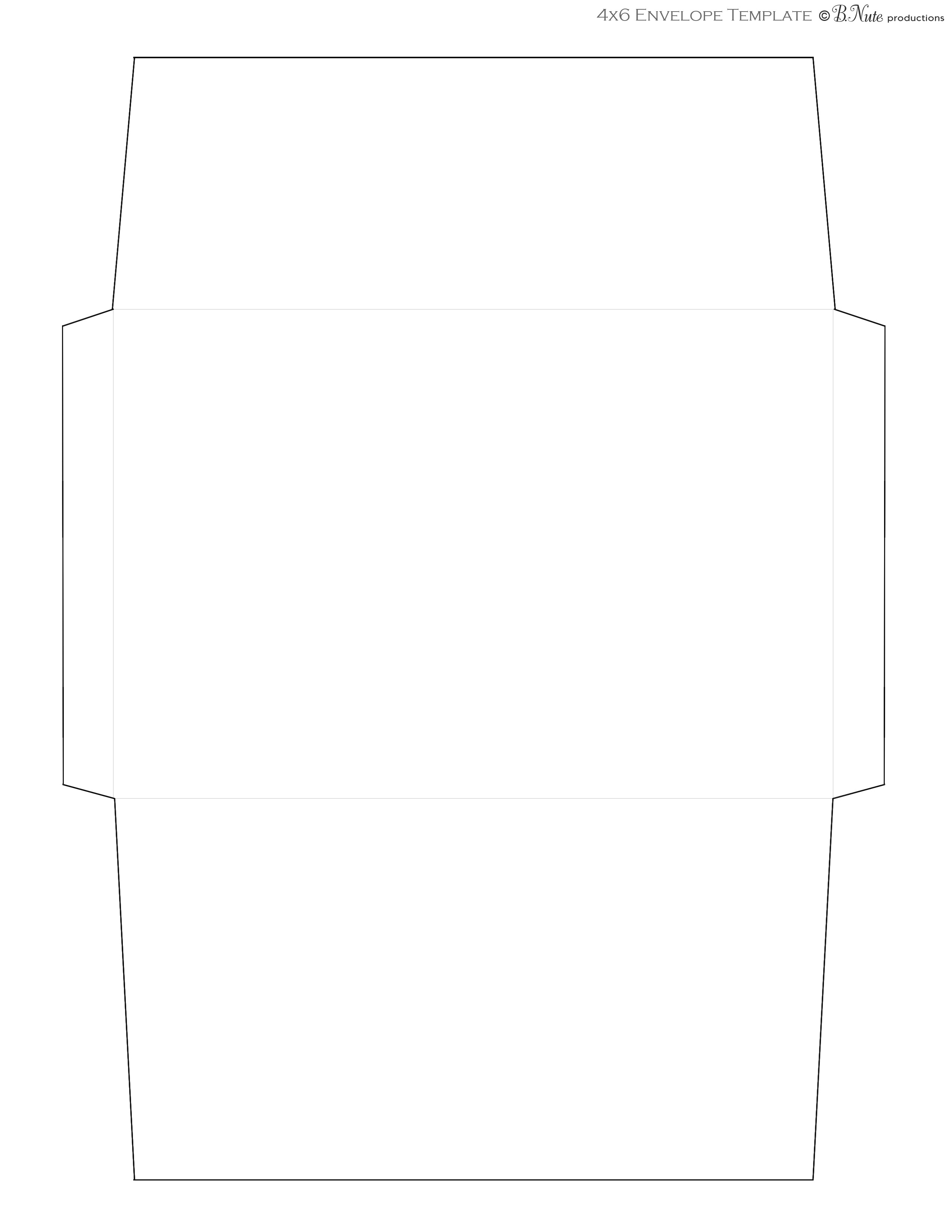It's just a picture of Intrepid Printable Envelopes Templates